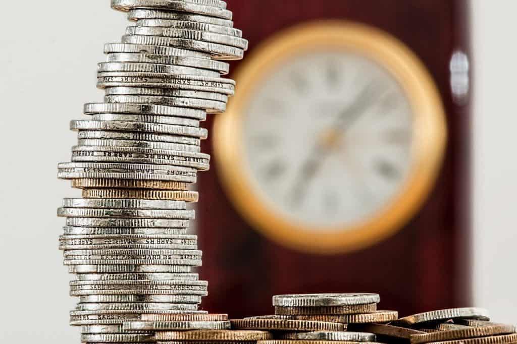 מגדל של מטבעות